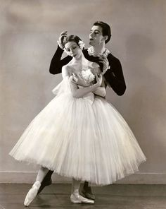 Alicia Markova, Anton Dolin, 1930s, vintage, ballet, dancers