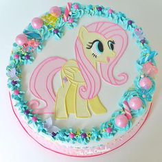 My Little Pony Shutterfly Cake  - The Cake Crusader, Custom Cakes in Western MA