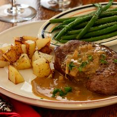 Valentine's Day à la Bonne Femme: Steak with Brandy-Mustard Sauce. I know it sounds old-fashioned to say this, but Men Love This Recipe.