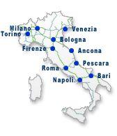 Autostrady, stacje ON, itd. Aree di servizio e prezzi carburante - Autostrade per l'Italia GIS
