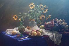 Photographer Паздерина Галина (Ustinagreen) - Натюрморт с подсвечником и кумганом #1689829. 35PHOTO