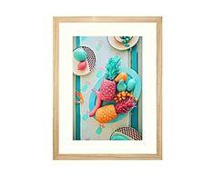 Stampa su tela Con una giacca gialla - 60x90 cm | ART | Pinterest | Tela