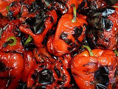 DIY - Roasted Red Peppers