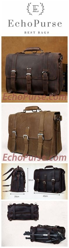 Handmade Top Grain Leather Backpack, Shoulder Bag, Crazy Horse Leather Travel Bag, Handbag CN5049