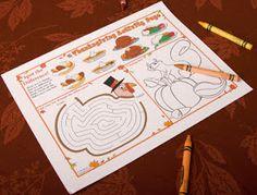 Thanksgiving Ideas - Thanksgiving Day Ideas: Thanksgiving Activities for Kids