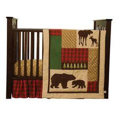Found it! Little man's room theme: north woods. Bringing home here! Babiesrus