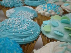 Baby Shower Cupcakes! | The Style Sisters