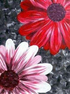 Paint Nite: Discover a new night out and paint and sip wine with friends Bd Art, Wine And Canvas, Learn To Paint, Pictures To Paint, Painting Inspiration, Flower Art, Flower Canvas, Painting & Drawing, Canvas Art
