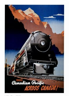 Probeer eens de prachtige treinrit met bv. de Rocky Mountaineer van Vancouver naar de Rockies.