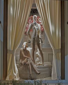 "RALPH LAUREN, Beverly Hills, Los Angeles, CA, ""All quiet on set please... Curtains open... Action"", (Part 2), pinned by Ton van der Veer"