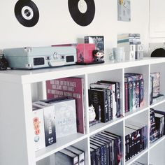 black, bookcase, and tumblr image