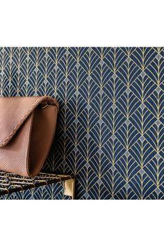 Ideas Geometric Wall Paper Living Room Wallpapers For 2020 Wallpaper Art Deco, Wallpaper Toilet, Room Wallpaper, Geometric Tiles, Geometric Wallpaper, 1920s Home Decor, Hall Tiles, Art Deco Tiles, Hallway Designs