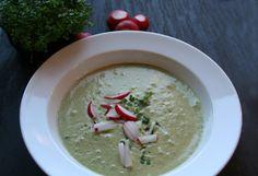 Radieschen-Sauerampfer-Suppe