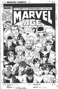 Marvel Age #032 by Paul Smith