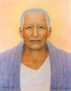 Master Djwhal Khul , The Tibetan -   Peter  &   Birgitte   Fich   Christiansen