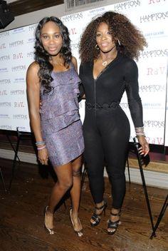 """Glam Slam"" Obsidian: Venus & Serena Williams - Women with their own clothing line"