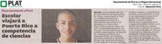 Operación Éxito: Representante en La Magna Competencia en el diario Ojo de Perú (06/10/15)