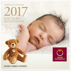 3,88 Euro CuNi Kursset Baby/Blister Österreich: 2017 PN
