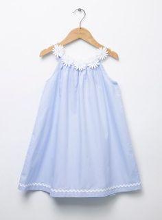 Kết quả hình ảnh cho daisy dress child children girl baby blue