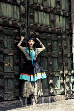 페루 민속 의상과 패션 트렌드의 조우 :: VOGUE.com