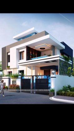 House Arch Design, Architect Design House, 2 Storey House Design, House Outside Design, Architectural Design House Plans, Kerala House Design, Bungalow House Design, Best Modern House Design, Modern Exterior House Designs