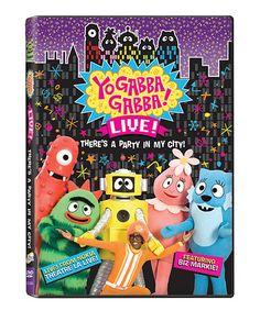 Take a look at this Yo Gabba Gabba! Live! DVD by Yo Gabba Gabba on #zulily today!
