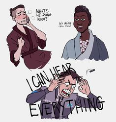 Hank's going 'Connor wtf'