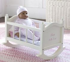 bad to just paint the cradle white with maybe some pink touches?