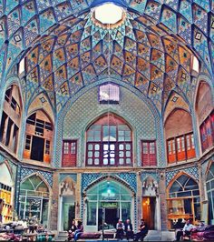 Bazaar Kashan, Iran. Spectacular!