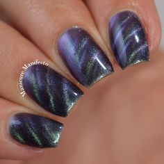 Born Pretty Store Aurora Borealis - Amanda Bourgeois - Re-Wilding Winter Nail Art, Winter Nails, Born Pretty Store, Nail Art Videos, Gorgeous Nails, Aurora Borealis, Nail Care, Nail Art Designs, My Nails
