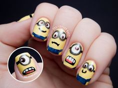I would love to have that on my nails!