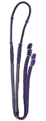 "Check out ""Knotted Competition Rein with Stones, 8'"" from Jeffers Pet"