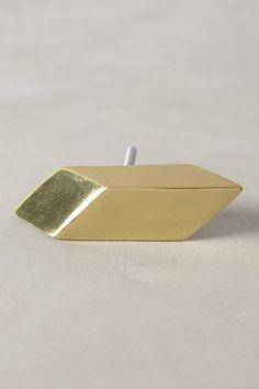 Decor/accessories - Geometric Barragan gleam knob make of a burnished brass with gold leaf finish in a gold finish in a parallelogram shape, making this a beautiful cabinet pull. Grown Up Bedroom, Dining Room Buffet, Anthropologie Uk, Home Hardware, Cabinet Hardware, Uk Fashion, Recycled Glass, Decorative Accessories, Jewelry Gifts