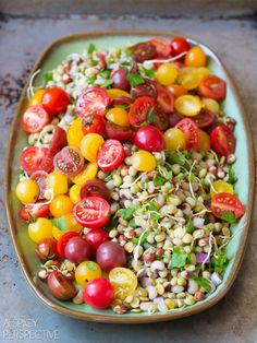 A Spicy Perspective Market Bean Salad - A Spicy Perspective