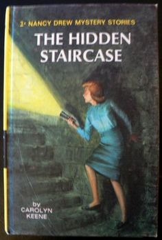 vintage childrens book NANCY DREW the Hidden by Inktiques on Etsy, $10.00