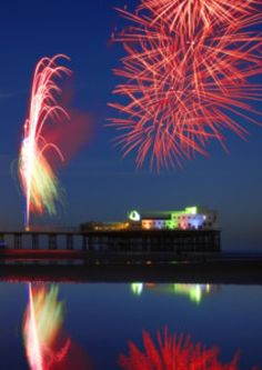 World Firework Championships in Blackpool