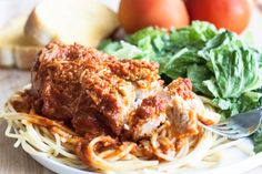 One bite of this and it was an instant favorite! I love chicken parmesan but hate the hassle of making it. This recipe was so EASY and it tasted amazing!