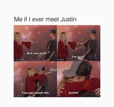 True haha but... it'll never happen tho but... I have to keep hope and follow my dreams just like Justin show me how to ❤️