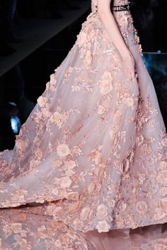 runwayandbeauty: Detail at Zuhair Murad Spring 2016 Haute Couture.
