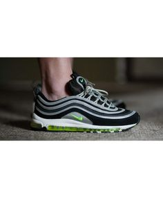 buy popular 793f3 8bc31 Nike Air Max 97 Mens Street Style Og Volt Min