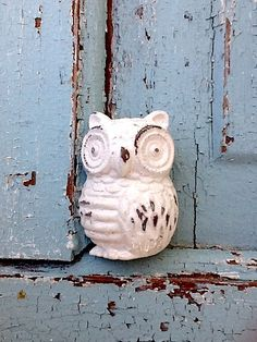 Owl Drawer Pull Farmhouse Style Owls Handles by CamillaCotton, $6.75