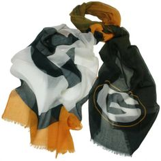 Green Bay Packers Ladies Gradient Scarf - Green/Gold
