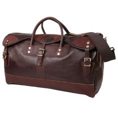 Duluth Pack Leather Duffel from District Grain