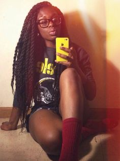 this length maybe? and now im reconsidering the chunky marley twists /// hi-Imcurrentlyobsessed : Photo Chunky Senegalese Twists Black Girls Hairstyles, Twist Hairstyles, Protective Hairstyles, Summer Hairstyles, Pretty Hairstyles, Protective Styles, Curly Hair Styles, Natural Hair Styles, Locks