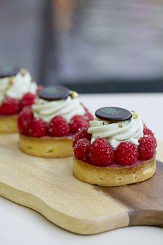Raspberry Pistachio Cream Tart