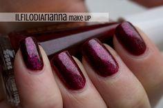 Il Filo di Arianna Make Up: Birthstone Challenge #Garnet: LAYLA CE14 + KIKO N°277 Il Filo di Arianna Make up, Nails and More...