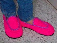 Suela Para Zapatos - Tejidos a Crochet Para Niños de 2 a 3 años - YouTube