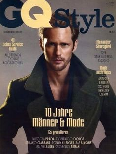 GQ magazine cover, Alexander Sharsgard