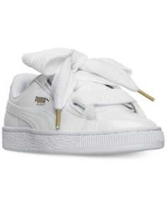 94c8c8b47416cf Puma Women s Basket Heart Patent Casual Sneakers from Finish Line Shoes -  Finish Line Athletic Sneakers - Macy s