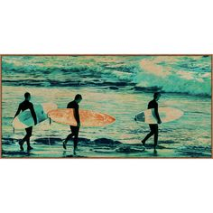 The Analog Surfers by Wendover Art Group is part of a broad and fresh selection of unique artwork of the highest quality and craftsmanship at attainable price levels. Our goal is to provide our customers superior value, which we define as the optimal combination of unique and fresh imagery, product quality and design, and price.